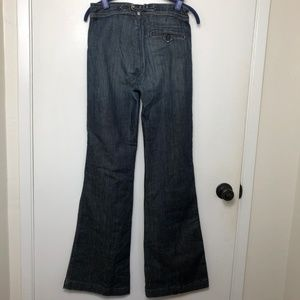7 For All Mankind Jeans - 7 For All Mankind Farrah Wide Leg High Waist Jeans